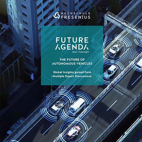 """Future Agenda und Hochschule Fresenius veröffentlichen Abschlussbericht """"The Future Of Autonomous Vehicles"""""""