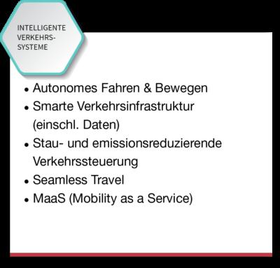 Intelligente Verkehrssysteme