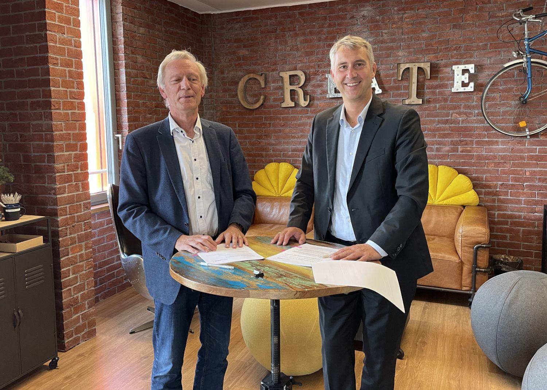 Michael Kadow begrüßt VDV-Akademie als neuen HOLM-Mieter und -Premiumpartner