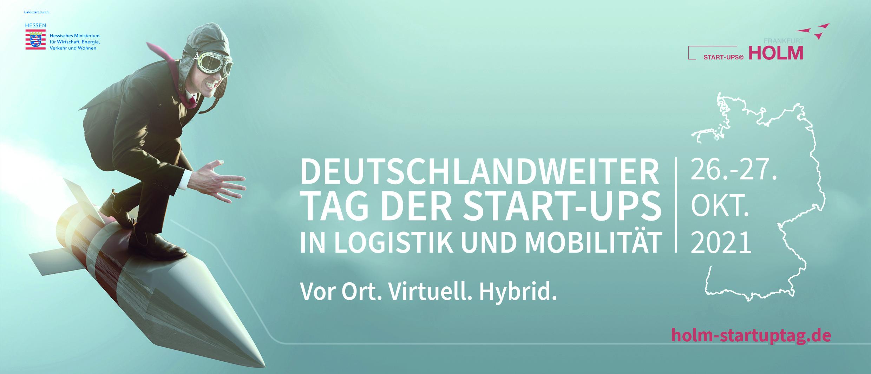 Anmeldestart für den Deutschlandweiten Tag der Start-ups in Logistik und Mobilität